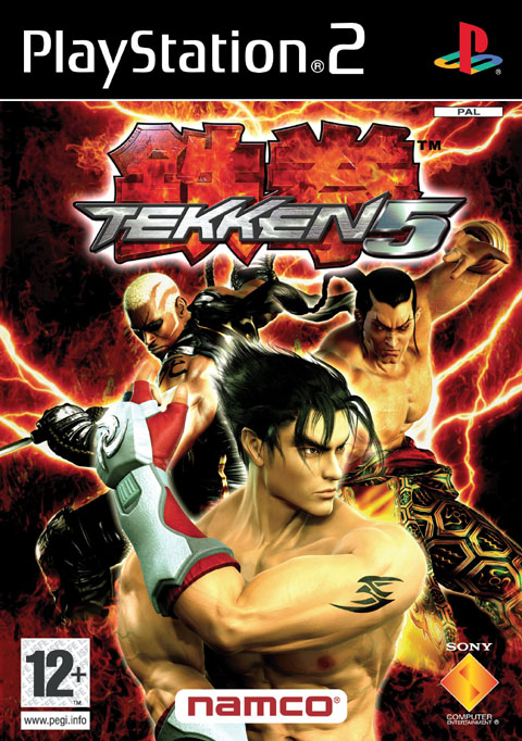 Tekken 5 Playstation 2 - Tekken 5 PS2
