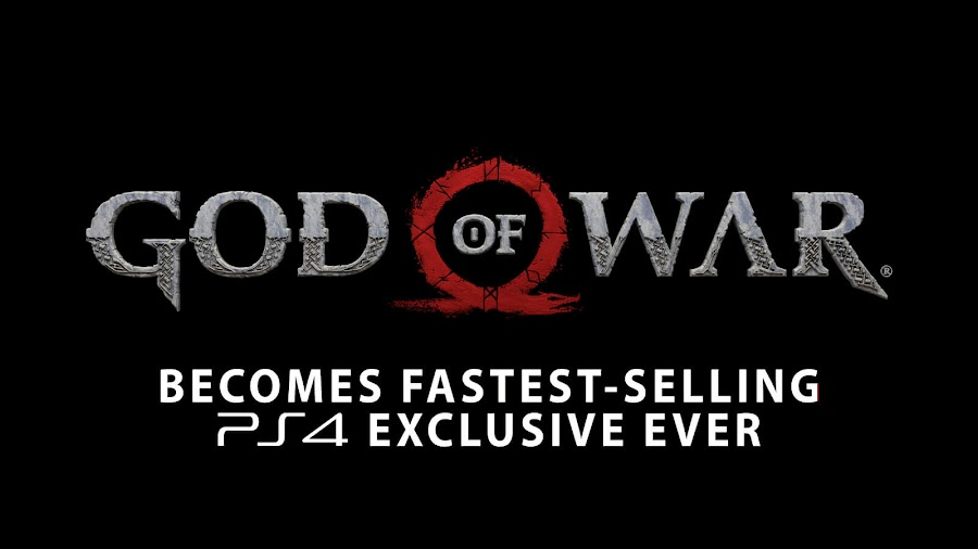 god of war ps4 sales record