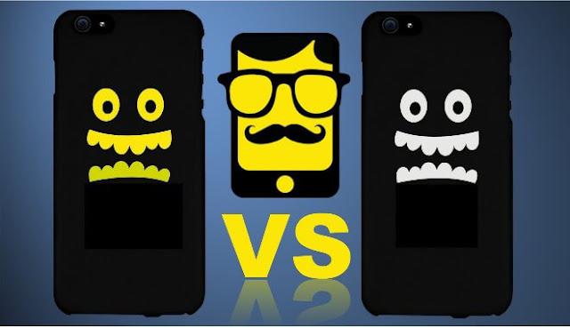 لأي هاتف أندرويد أوآيفون مميزات وعيوب,وتطبيق اليوم يبين الفرق بين أي هاتف وهاتف أخر من خلال المقارنة.في الكاميرا ,عمر البطارية,نوع وسرعة المعالج.المساحة التخزينية,وحجم الذاكرة...