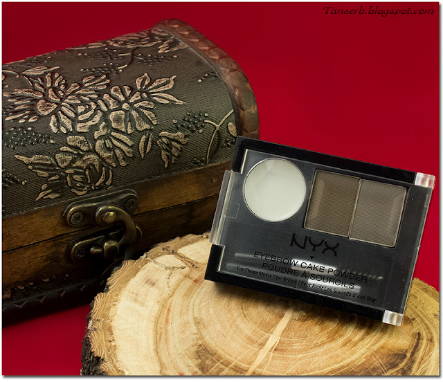 Тени для бровей NYX Eyebrow Powder # 03 Taupe/Ash