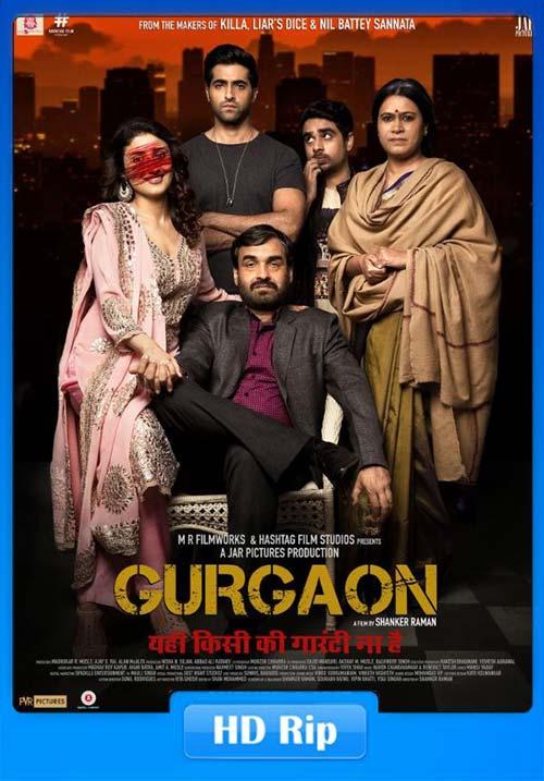 Gurgaon 2017 Hindi 720p HDRip | 400MB 480p | 100MB HEVC Poster