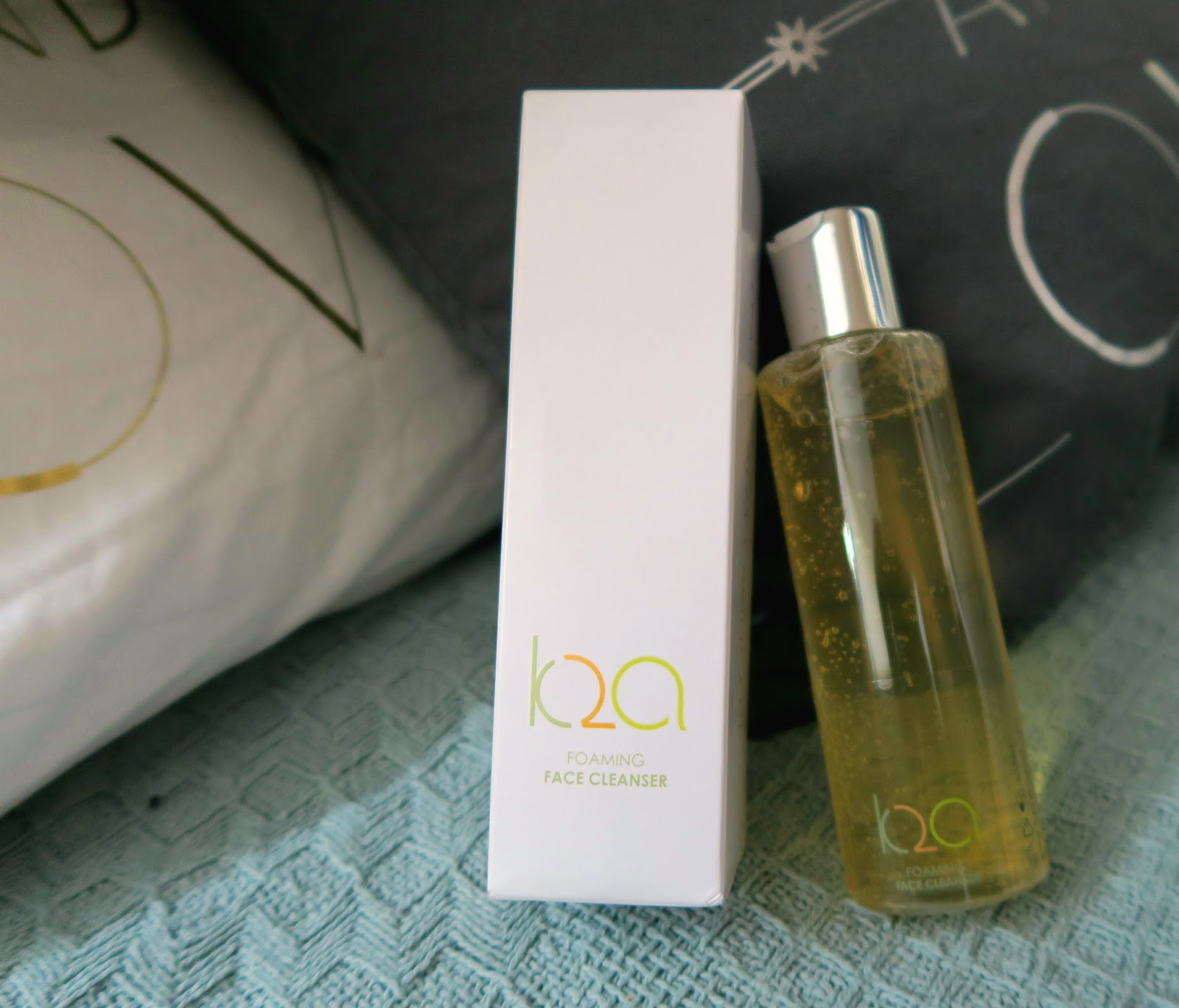 Cleanser and packaging