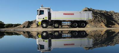 Caminhão Scania autônomo