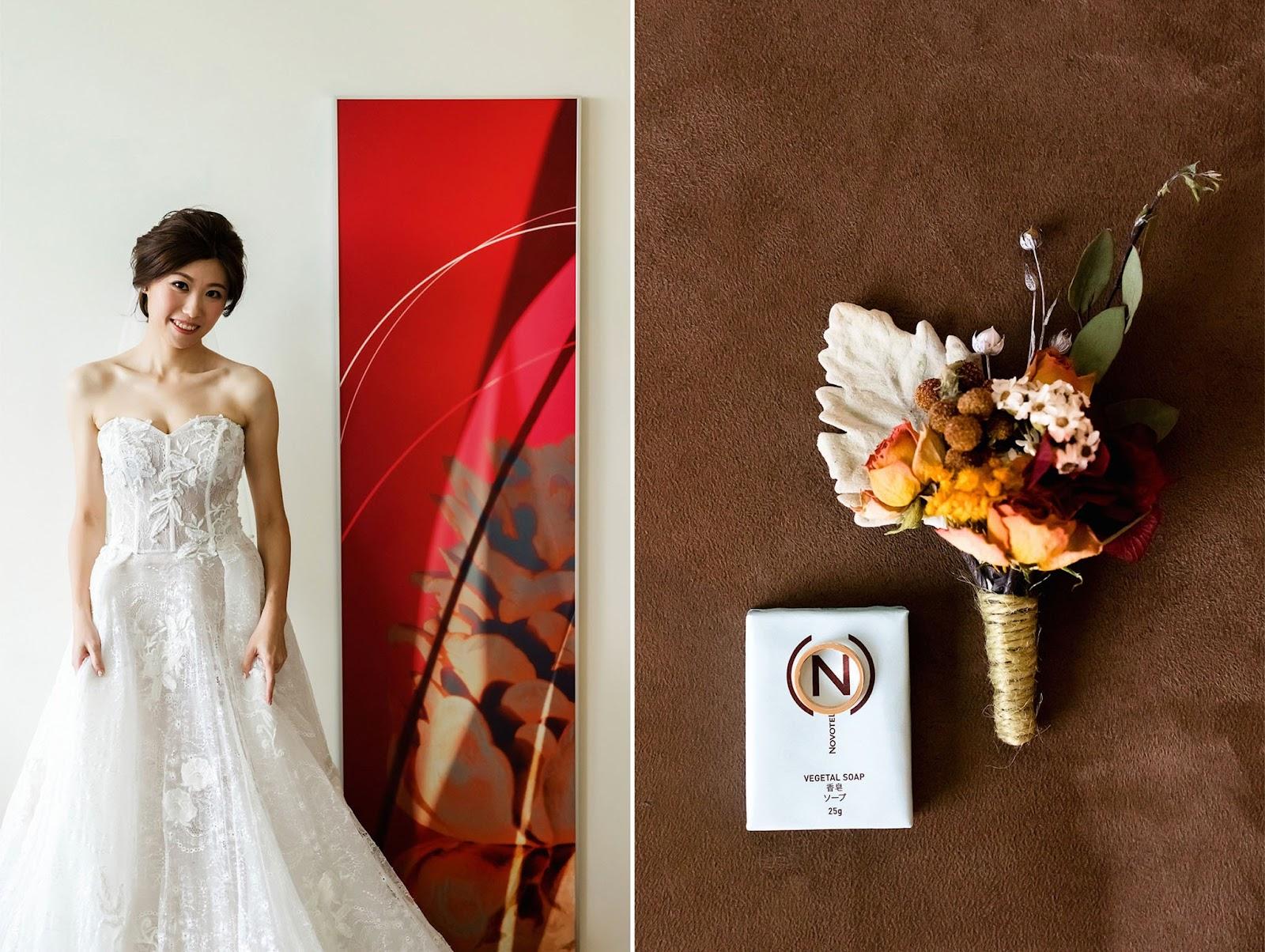 [ Wedding Record ] 迎娶 / 諾富特華航桃園機場飯店 NOVOTEL。Marco & Angel   K.LOVE IMAGE STUDIO
