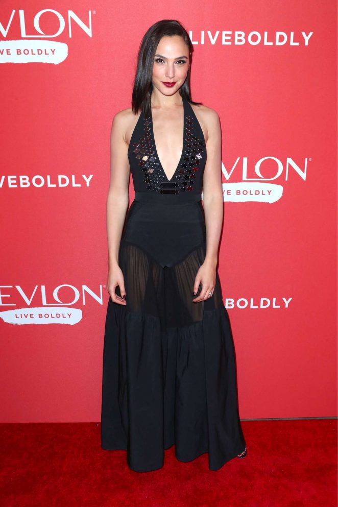 Gal Gadot – Revlon's 'Live Boldly' Campaign Launch in New York