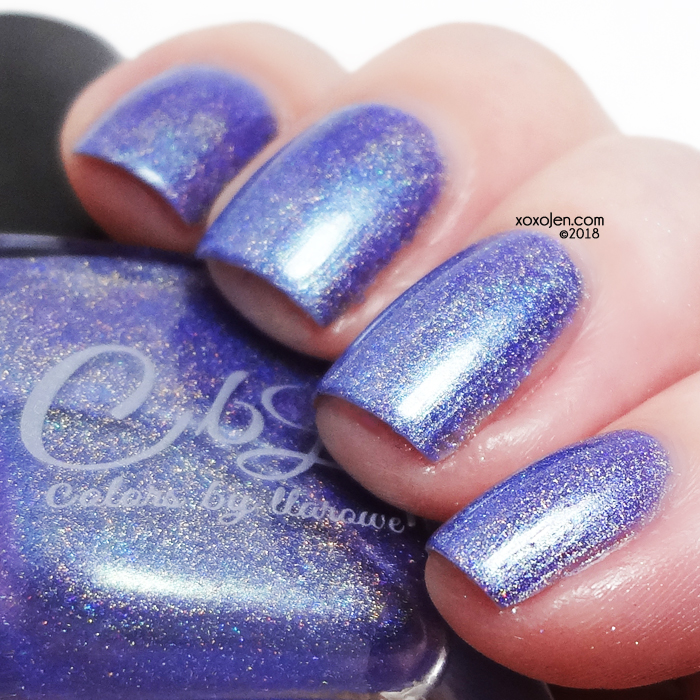 xoxoJen's swatch of Colors By Llarowe Pua Lilac