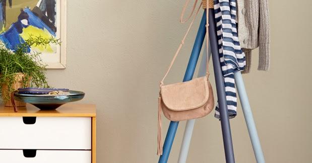 initiales gg diy un porte manteau au design scandinave. Black Bedroom Furniture Sets. Home Design Ideas