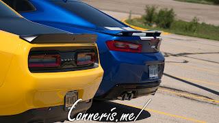 Dodge Challenger TA Chevrolet Camaro SS