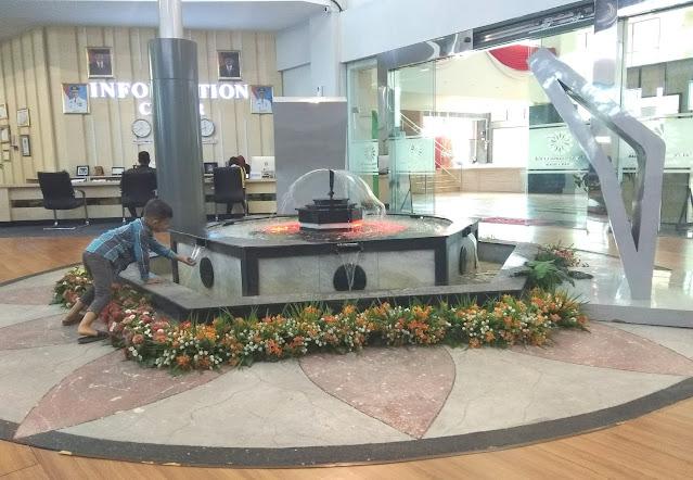 taman  gedung Sumatera batam centre