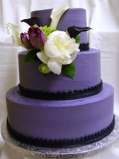 Wedding Cakes Pictures Purple Reign Wedding Cake