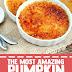 The Most Pumpkin Creme Brulee