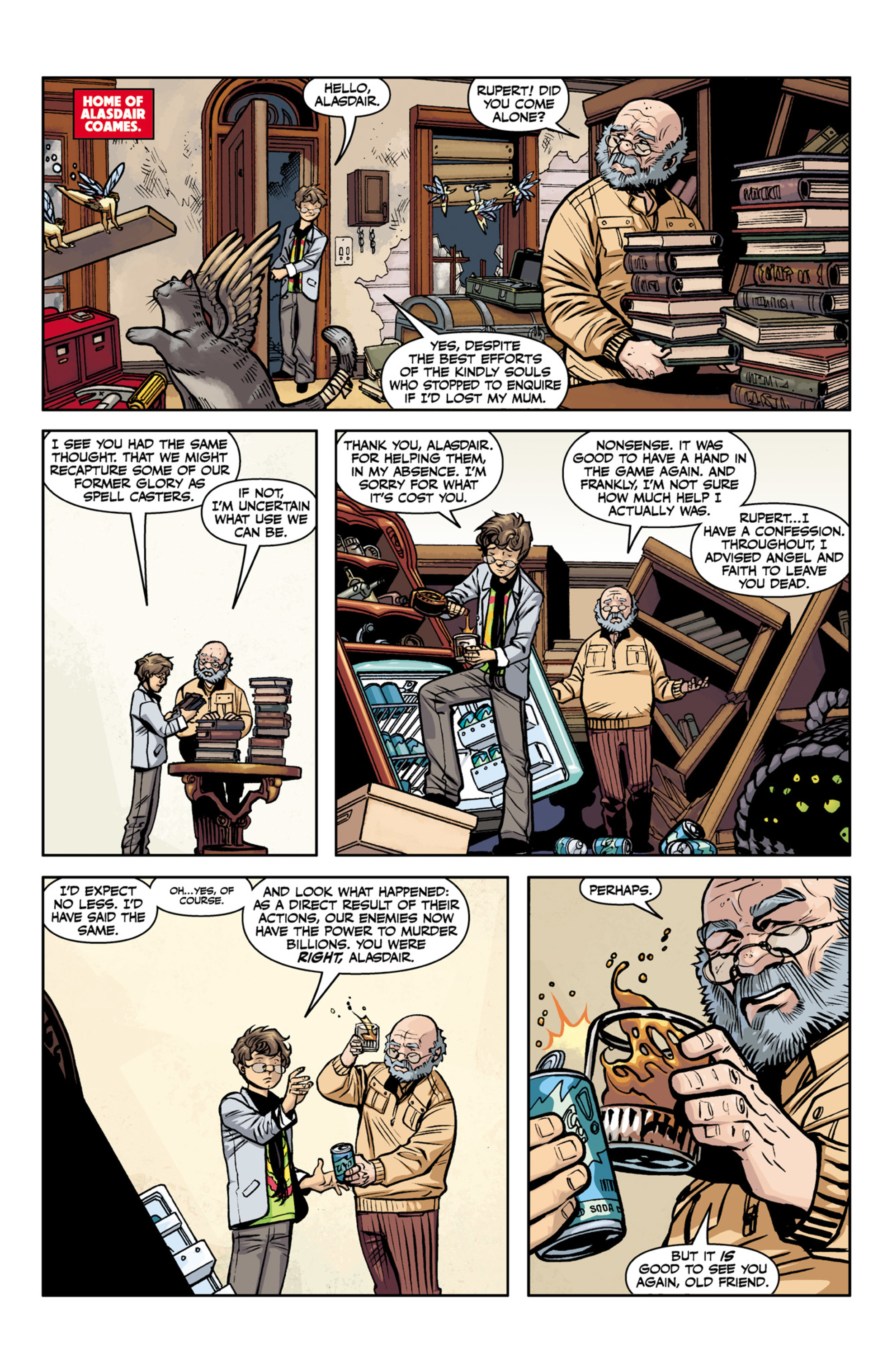 Read online Angel and Faith comic -  Issue #22 - 18
