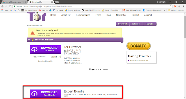 How To Use Tor With Chrome Without (Firefox) The Browser Bundle On Windows