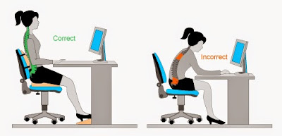 Make your workstation ergonomically appropriate
