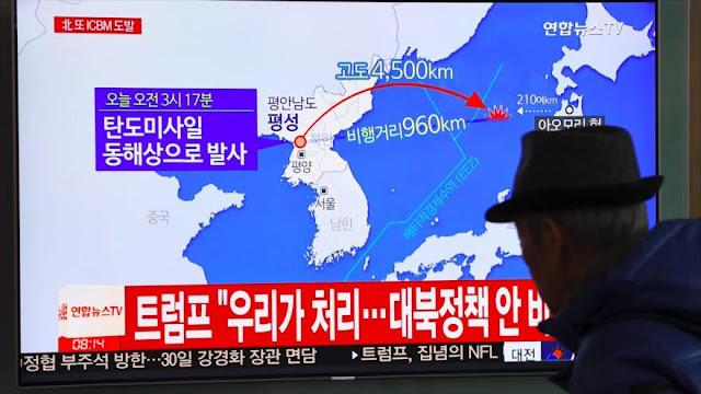 Senador republicano avisa de posible guerra EEUU-Corea del Norte