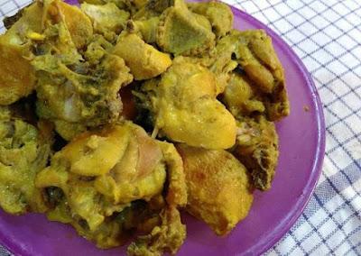 Resep Ayam Goreng Bumbu Kuning Spesial, Renyah dan Gurih!