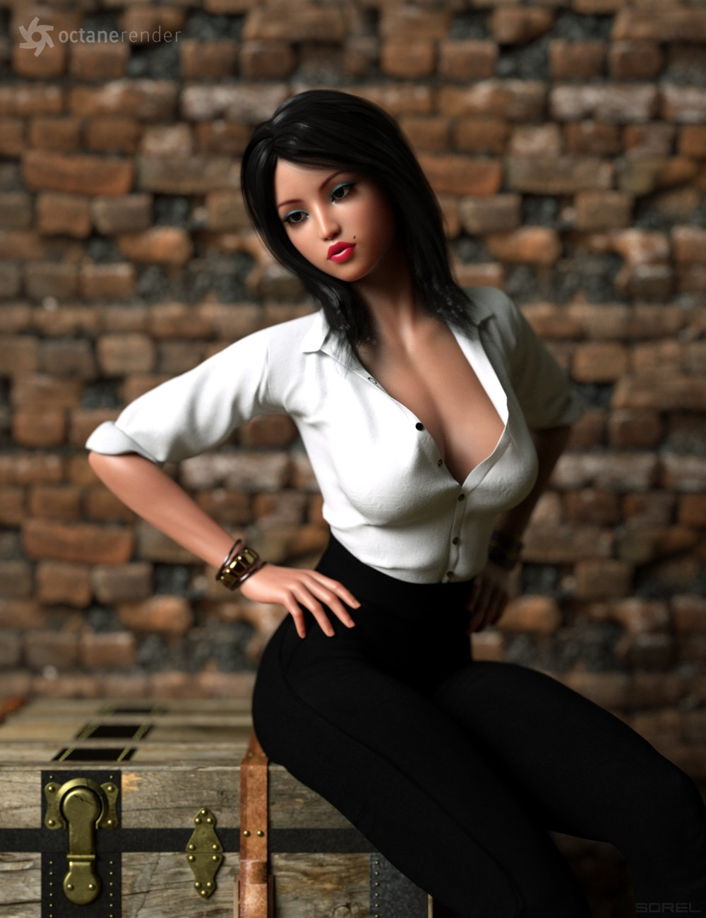 Daz3d female genesis