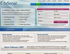 Clixsense, Paying PTC from 2007!