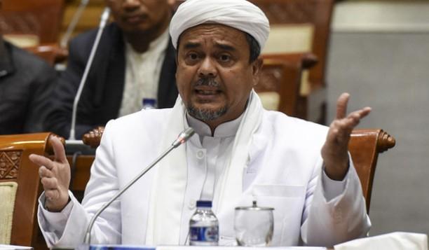 Habib Rizieq Ingin Kasus Hukumnya Diselesaikan Kekeluargaan