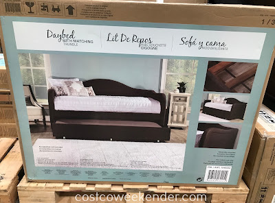Costco 1049332 - Hillsdale Fabric Daybed with Matching Trundle: great for any home's guest room as a bed or couch