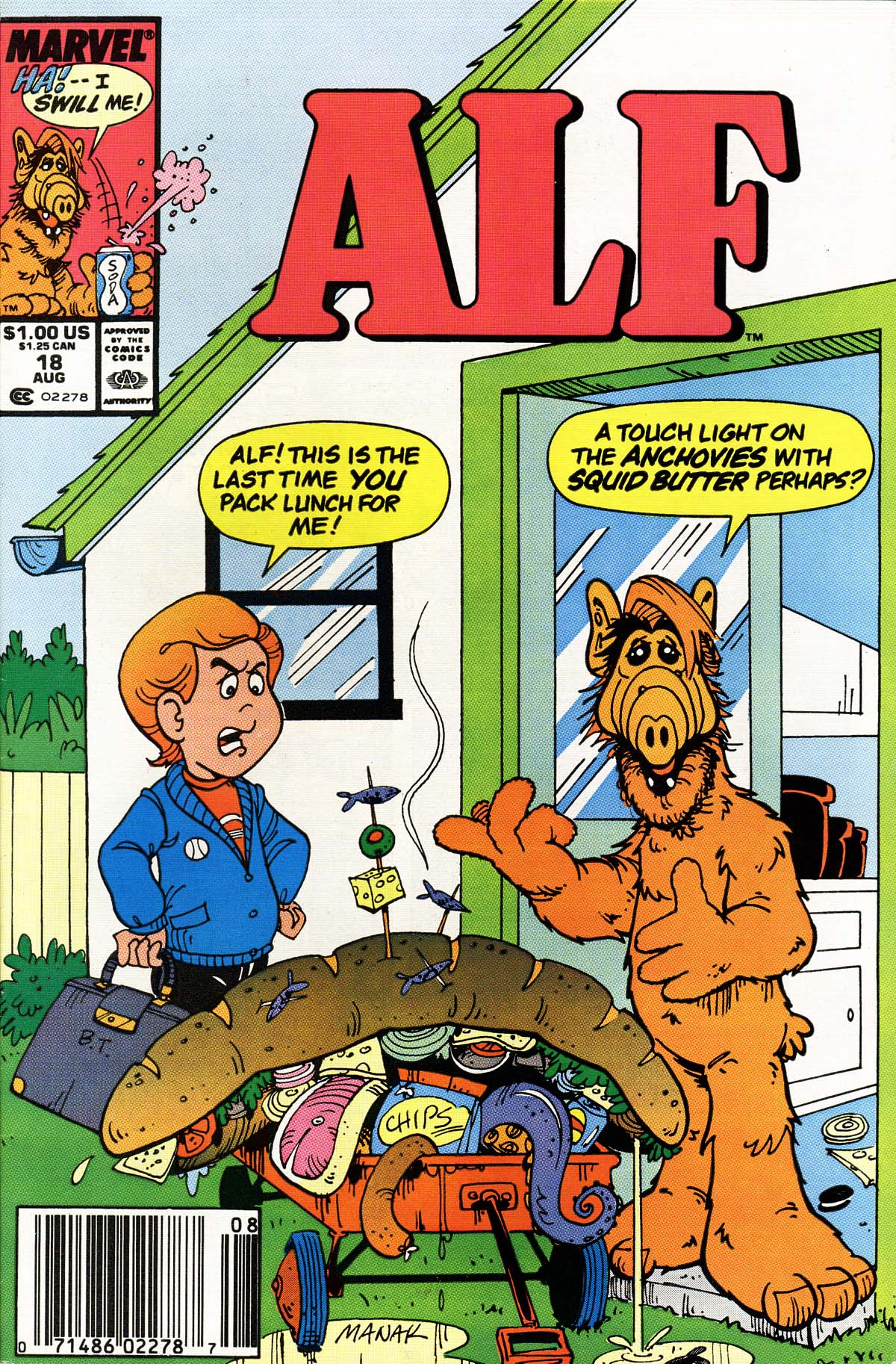 Read online ALF comic -  Issue #18 - 1