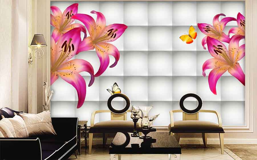 Best 3D Wallpaper for walls of living room, bedroom and