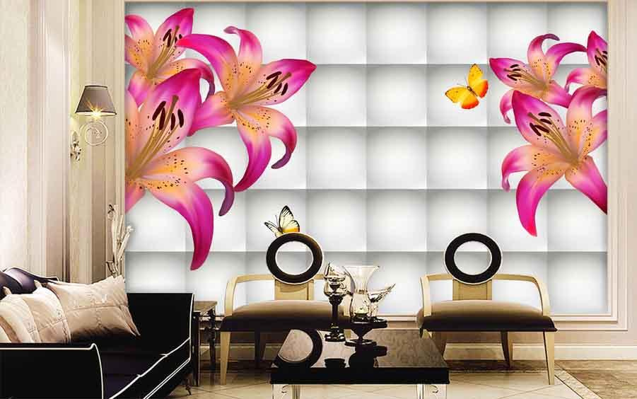 Best 3D Wallpaper for walls of living room, bedroom and
