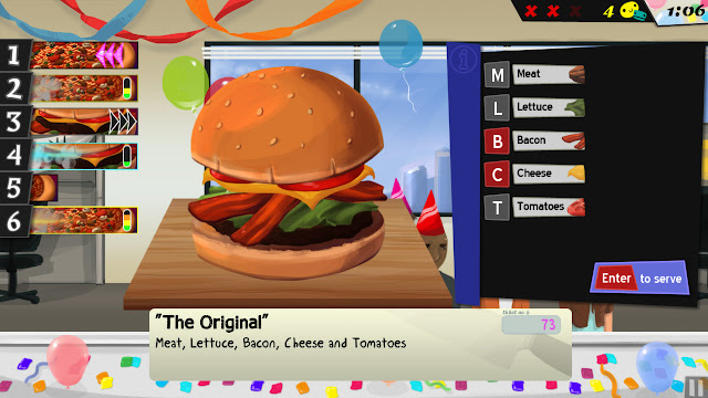 Screenshot of the game Cook, Serve, Delicious!