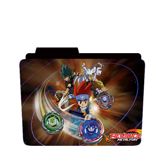Preview of  Beyblade metal fury, all character, folder icon