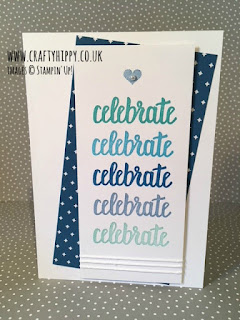 Celebrate Card made with the Amazing You stamp set by Stampin' Up!