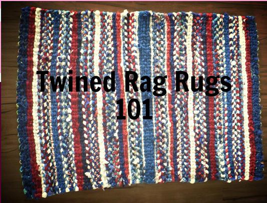 Zgear S Twined Rag Rugs 101