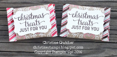 Stampin Up Candy Cane Christmas
