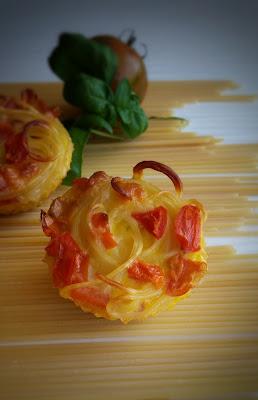 frittata di pasta mediterranea