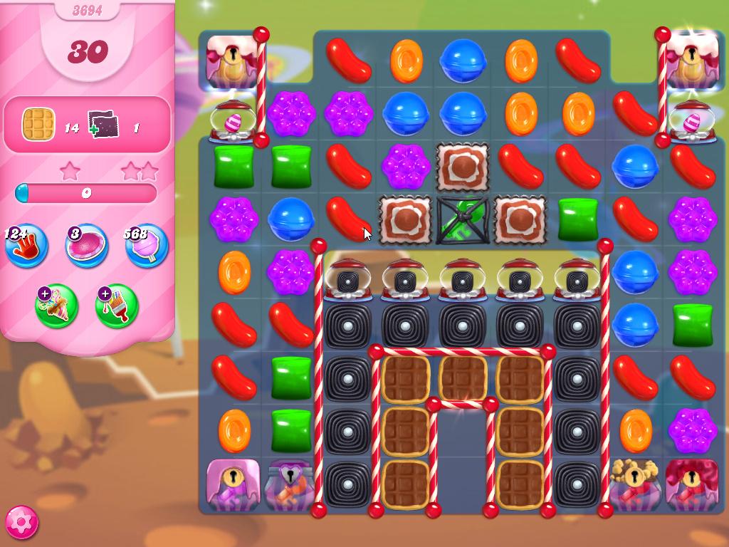 Candy Crush Saga level 3694