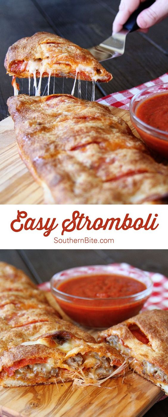 Easy Stromboli #easystromboli #stromboli #easyrecipes #easydinnerrecipes #strombolirecipes