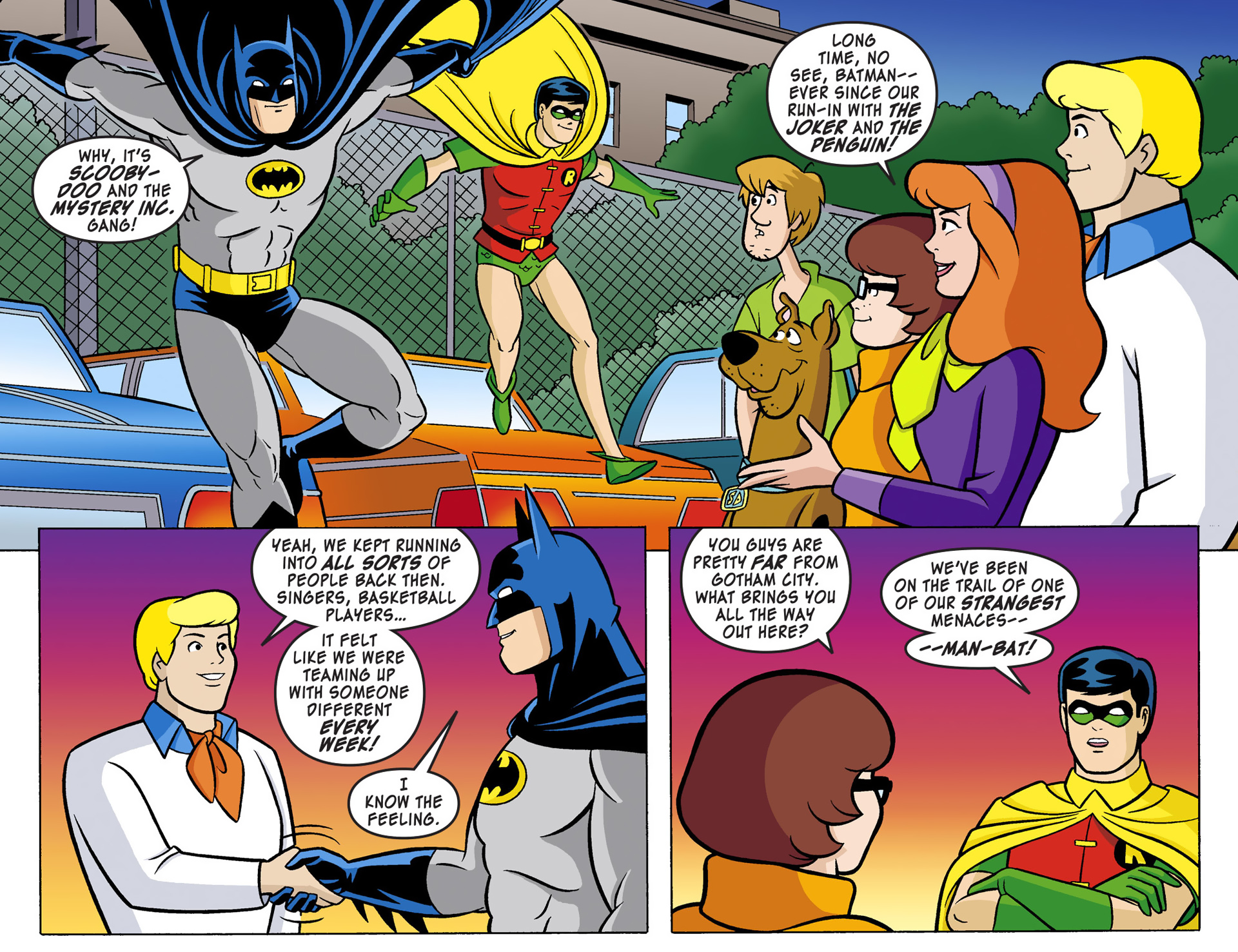 Read online Scooby-Doo! Team-Up comic -  Issue #1 - 7