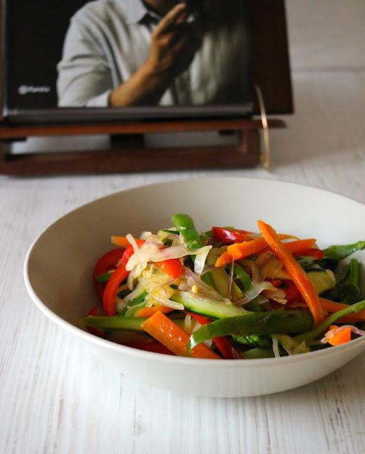 Wook de verduras con salsa de soja - Cook & spoon