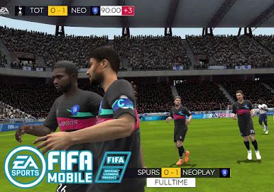 لعبة FIFA SOCCER للاندرويد