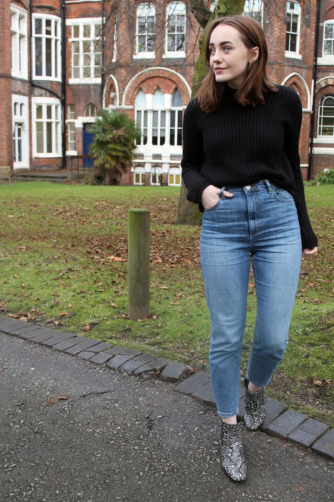 ASOS farleigh jeans, gwen mid blue stonewash
