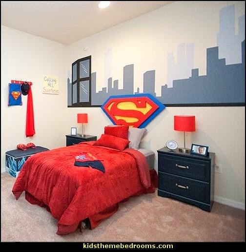 Decorating theme bedrooms - Maries Manor: superman bedroom ...