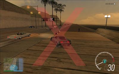 gta sa san mod no suicide dive fix pedestres se jogando carro