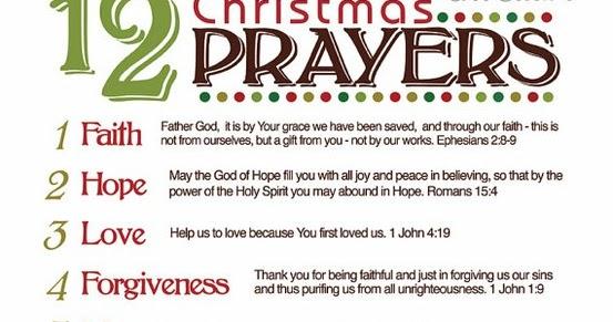 Blessings & Prayers - Bendiciones Y Oraciones: Christmas Prayers ...