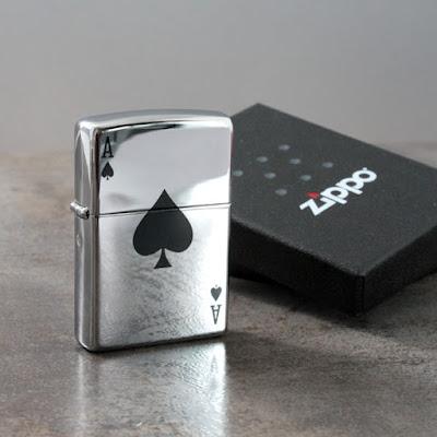 Spersonalizowany Zapalniczka Zippo Lucky Ace