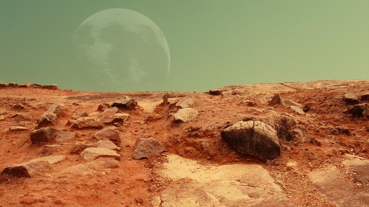 Científico patenta un método para controlar el clima de Marte