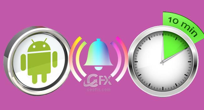 Android Geri Sayım Sayacı Zil Sesi Değiştir-www.ceofix.com