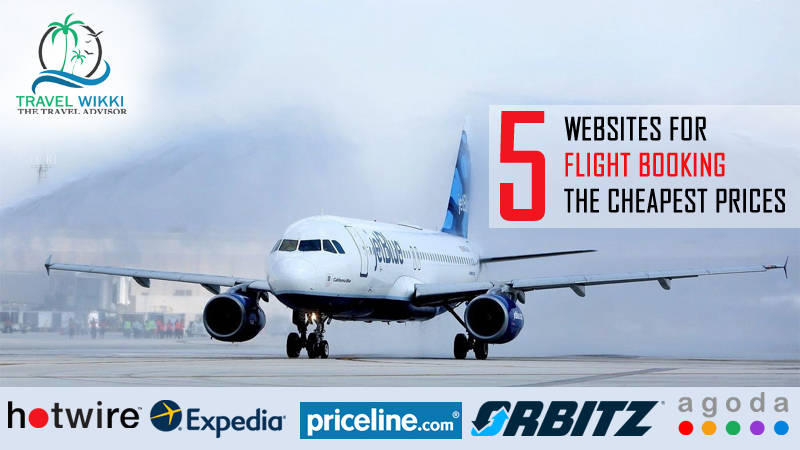 Websites for Flight Booking at The Cheapest Prices