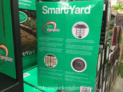 Smartyard 8 Led Solar Pathway Lights Costco Weekender