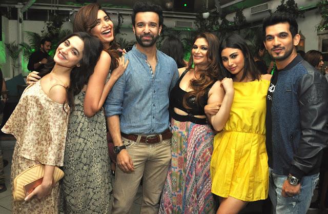11. Sanjeeda Sheikh, Karishma Tanna, Aamir Ali, Sohanna Sinha, Mouni Roy and Arjun Bijlani