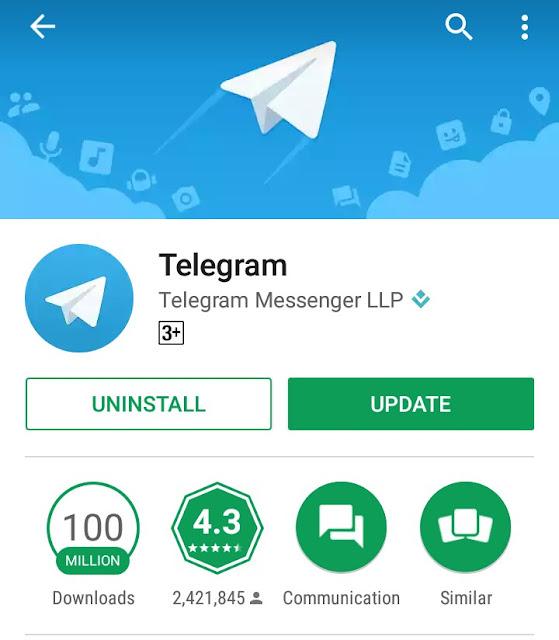 Telegram Brings Epic Update To There App