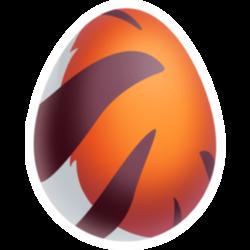 Aparência de ovo Dragão Tigre